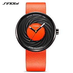 SINOBI Dames Heren Sporthorloge Dress horloge Modieus horloge Armbandhorloge Unieke creatieve horloge Japans KwartsWaterbestendig