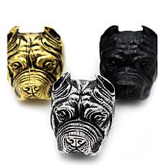 Pierscionek Biżuteria Zwierzęta Styl Punk Wyrazista biżuteria Stal nierdzewna Animal Shape Biżuteria NaHalloween Codzienny Casual