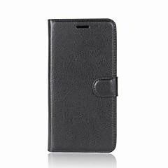 Estojo para uma mais 5 3t tampa porta carteira carteira com suporte flip caso de corpo inteiro cor sólida pu couro duro para um mais 3
