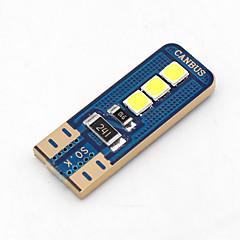 4 x Error Free Canbus T10 3030 6 SMD OSRAM LED White Car Side Light 360LM Bulbs