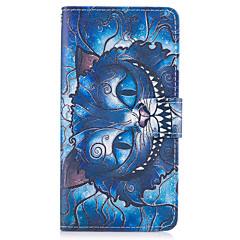 Case for Sony xperia x xa tok kék macska minta pu bőr tok Sony xperia x kompakt xz prémium z5 premium m2 m4 aqua xa1 ultra