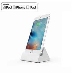 iQunix® MFI Certificated Dock Charger Mount Desk Holder Hima Aluminum Alloy Dock Charging Station for iPhone iPad air Pro