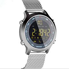 Inteligentny zegarek Wodoszczelny Długi czas czuwania Spalone kalorie Krokomierze Rejestr ćwiczeń Sportowy Informacje Obsługa aparatu