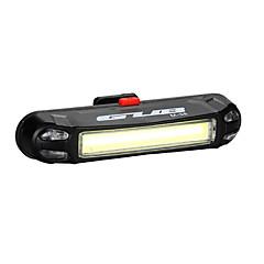 Fietsverlichting Achterlicht fiets LED LED Wielrennen Voor buiten Waterbestendig LED-licht USB Lithium Batterij 100 Lumens USBBlauw Rood