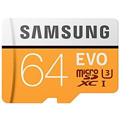 Samsung 64gb micro sd kort tf kort minneskort 100mb / s uhs-3 class10