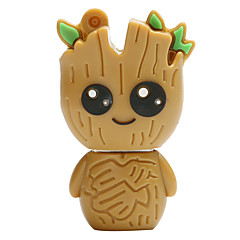 Hot new cartoon mini tree usb2.0 16GB flashdrev u diskhukommelsestik