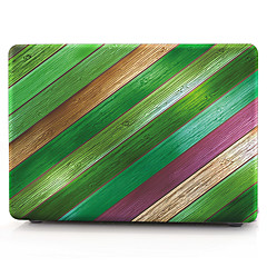 MacBook Custodia per Macbook Simil-legno Policarbonato Materiale