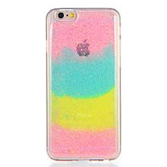 För Apple iPhone7 7plus Hölje Mönster Bakre Hölje Färg Höjd Glitter Glans Soft TPU 6s plus 6 plus 6s 6