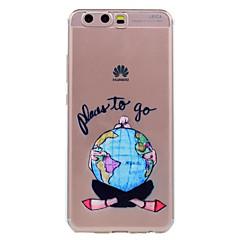 Huawei p10 p10 lite telefon esetében szexi lány mintás puha TPU anyag telefon esetében p10 plusz P8 lite (2017)