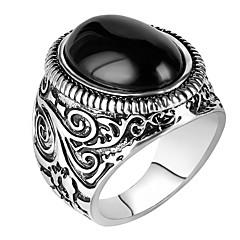 Statement-ringe Ring Unikt design Euro-Amerikansk luksus smykker Statement-smykker Mode Vintage Personaliseret Harpiks LegeringRund form