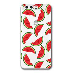 Til huawei p9 p10 cover til cover gennemsigtigt mønster bagside cover frugt blødt tpu til huawei p9 plus p10 p10 plus p8 p8 lite