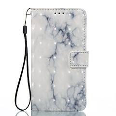Lg k8 (2017) k10 (2017) tok borítás fehér hamu minta 3d festett kártya stent pénztárca telefon tok lg k7 k8