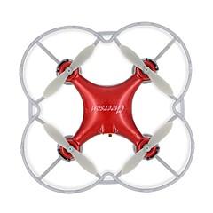 Drón Cheerson CX10SE Red 4CH 6 Tengelyes LED Világítás 360 Fokos Forgás Lebeg RC Quadcopter Távirányító USB kábel Kézkönyv