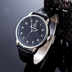 Heren Sporthorloge Dress horloge Modieus horloge Polshorloge Unieke creatieve horloge Vrijetijdshorloge Chinees Kwarts Waterbestendig Leer