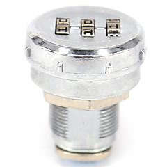 Sb04-ένας κωδικός πρόσβασης για να ξεκλειδώσετε 4-ψήφιο κωδικό πρόσβασης συρταριών κλειδώματος dail κλειδώματος και κλειδώματος κωδικού