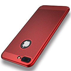 Na iPhone 8 iPhone 8 Plus Etui Pokrowce Ultra cienkie Etui na tył Kılıf Solid Color Twarde PC na Apple iPhone 8 Plus iPhone 8 iPhone 7