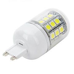 Marsing G9 5W 500lm 30-5050 SMD LED Cold White Corn Lamp AC220-240V(1PCS)