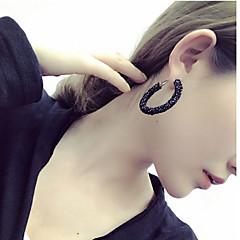 Naisten Korvarenkaat Muoti Euramerican pukukorut Hartsi Metalliseos Circle Shape Korut Käyttötarkoitus Päivittäin Kausaliteetti