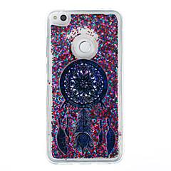 ja huawei p9 lite P8 lite suojus unisieppari kuvio flash-jauhe juoksuhiekkaa TPU-materiaali puhelimen tapauksessa P8 lite (2017)