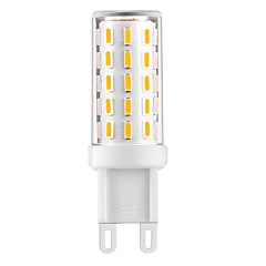 3W White Warm White Natural White LED Bi-pin Lights T G9 54 SMD 4014 Flicker free 360-390 lm  Decorative AC100-240V 1 pc