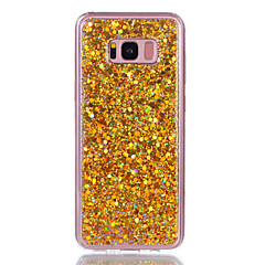 Taske til samsung galaxy s8 plus s8 telefon taske akryl misfarvet flash pulver telefon taske s7 kant s7 s6 kant s6 s5