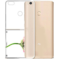 Asling voor xiaomi max 2 ultra-dunne behuizing cover transparante achterkant behuizing transparante zachte tpu