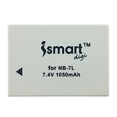 Ismartdigi 7l 7.4v 1050mah μπαταρία φωτογραφικής μηχανής για canon powershot g10 g11 g12 sx30is