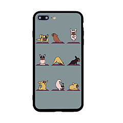 For iPhone 7 Plus 7 Case Cover Pattern Back Cover Case Dog Hard Acrylic for  iPhone 6s Plus 6s 6 Plus 6 5s 5 SE