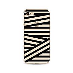 Obudowa dla telefonu iphone 7 plus 7 pokrywka przezroczysta obudowa tylna okładka torba / fala wzór miękka tpu dla iphone 6s plus 6 plus