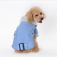 Σκύλος Παλτά Ρούχα για σκύλους Καθημερινά American / ΗΠΑ Καφέ Καφέ Πράσινο Μπλε