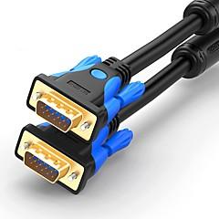 VGA Kabel, VGA to VGA Kabel Mannelijk - Mannelijk Verguld koper 2.0m (6.5ft)