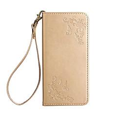 Taske til Sony XA1 L1 Dæksel Cardholder Lommebog med stativ flip hele body case sommerfugl blomst hard pu læder til xp e5 xz xz premium z5