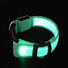 칼라 휴대용 LED 조명 조절 가능 솔리드 나일론