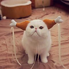 Pet headdress chicken legs hoop funny props