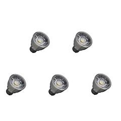 5W LED Spotlight 1 COB 550 lm Warm White Cool White Decorative AC85-265 V 5 pcs