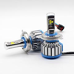 PHILIPS 80W 9600LM H4 9003 HB2 LED Headlight Kit Bulbs Hi/Lo Beam 6000K Canbus