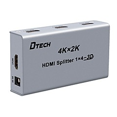 HDMI 2.0 Splitter, HDMI 2.0 to HDMI 2.0 Splitter Żeński-Żeński 4K*2K