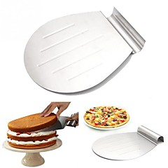 1 Moldes de bolos Pão Bolo Biscoito Pizza por Pie para Pizza Aço Inoxidável + Plástico ABS Aço Inoxidável /Ferro Aço Inoxidável