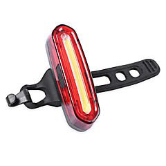 Kerékpár világítás Waterproof Bár vége fények Kerékpár hátsó lámpa hátsó lámpák LED - Kerékpározás Újratölthető Vízálló Kis méret Könnyű