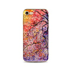 Kotelo iphone 7 plus 7 kattaa läpinäkyvä kuvio takakannen tapaus puu pehmeä tpu omena iphone 6s plus 6 plus 6s 6 se 5s 5c 5 4s 4