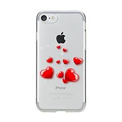Tok iphone 7 6 szív tpu puha ultra-vékony hátlap burkolat iphone 7 plus 6 6s plus se 5s 5 5c 4s 4