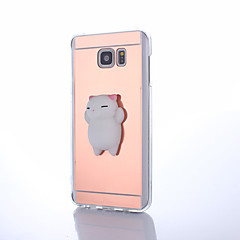 Hoesje voor Samsung Galaxy Note 5 Squishy Diy Stress Reliëf Case Achterhoesje Hoesje Cute 3D Cartoon Zachte TPU Hoesje voor Samsung Galaxy