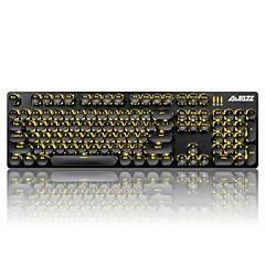 Ajazz keycaps ingesteld voor mechanisch toetsenbord gamimg toetsenbord steampunk keycaps 104 toetsen
