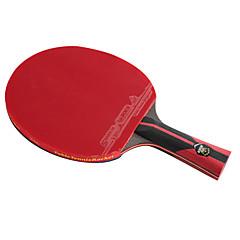 6 Stars Ping Pang/Πινγκ πονγκ Ρακέτες Ping Pang Ίνα Άνθρακα Μακριά Λαβή Σπυράκια 1 Ρακέτα 1 Τσάντα επιτραπέζιου τένις