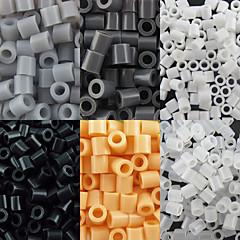 ca. 500 stuks / zak 5mm perler kralen smelten kralen hama kralen eva materiaal safty voor kinderen (assorti b44-b50)
