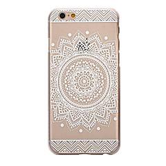 tylna pokrywa mandala TPU miękkie Osłona przezroczysty / wzorzec dla Apple iPhone SE / 5s / 5