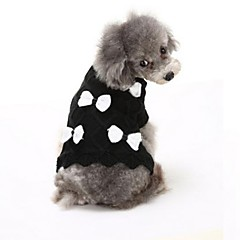 Hond Truien Hondenkleding Casual/Dagelijks Strik Wit Zwart