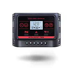 Pwm 12v 24v 30a napellenző háttérvilágítással lcd funkcióval dual usb 5vdc kimenet napelemes akkumulátor töltésszabályozó