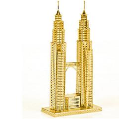 Legpuzzels DHZ-kit 3D-puzzels Bouw blokken DHZ-speelgoed Architectuur Roestvast staal