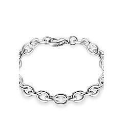 Męskie Damskie Bransoletki i łańcuszki na rękę Biżuteria Osobiste luksusowa biżuteria minimalistyczny styl Klasyczny Metaliczny Srebro